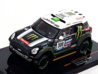 1:43 MINI ALL 4 RACING  #300 S.Peterhansel-J.P.Cottret Dakar 2014