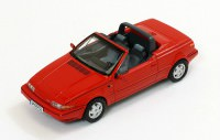 1:43 VOLVO 480 Turbo Cabriolet 1990 Red