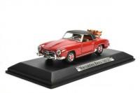 1:43 MERCEDES-BENZ 190 SL (W121) с багажником 1955 Red/Black