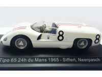 1:43 MASERATI Tipo 65 #8 Siffert/Neerpasch 24h du Mans 1965