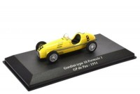 1:43 GORDINI Type 16 #8 Formula 1 GP Pau 1954