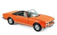 1:18 PEUGEOT 504 Cabriolet 1970 Capucine Yellow