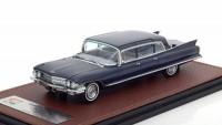 1:43 CADILLAC Fleetwood 75 Limousine 1962 Blue Metallic