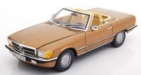 1:18 MERCEDES-BENZ 300SL Cabriolet (R107) 1986 Byzanzgold Metallic