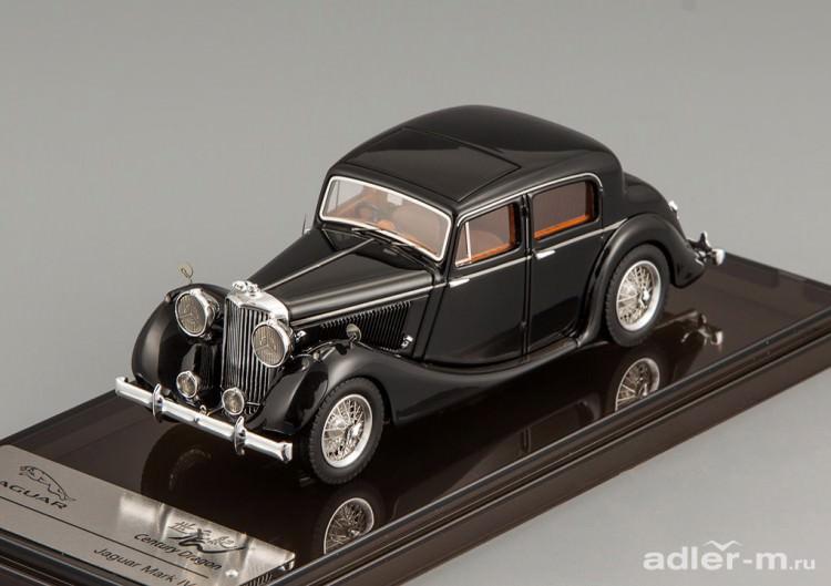 1:43 Jaguar MK IV Saloon (black)