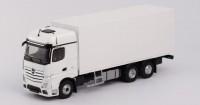 1:43 MERCEDES-BENZ new ACTROS 1851 6x4 фургон 2019 White