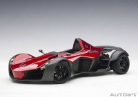 1:18 BAC Mono 2011 (met. red)