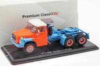 1:43 седельный тягач TATRA 148 1970 Orange/Light Blue
