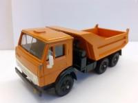 1:43 КАМский грузовик -5511 самосвал оранжевый