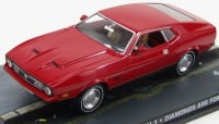 "1:43 FORD Mustang Mach I ""Diamonds Are Forever"" 1971 Red"