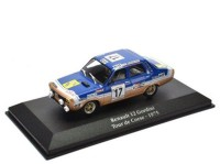 1:43 RENAULT 12 Gordini #17 Rally Tour de Corse 1975