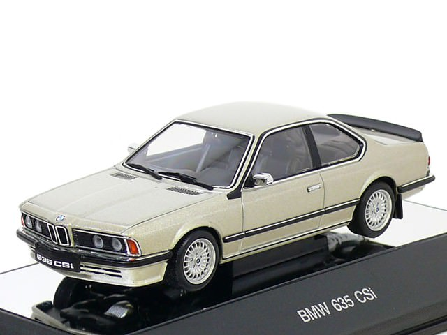 1:43 BMW 635 CSi [с открывающимся капотом] (bronzitbeige metallic)