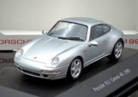 1:43 PORSCHE 911 Carrera 4S (993) 1995 Silver