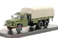 1:43 TATRA 148 NVA DDR (народная армия ГДР) грузовик с тентом 6х6 1975 Olive