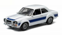 1:43 FORD Escort RS 2000 1974 White with Blue Stripes