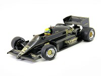 "1:18 LOTUS RENAULT 97T ""JPS"" #12 Ayrton Senna GP Portugal 1985"