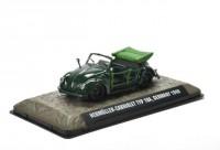 1:43 VW Hebmuller Beetle Type 18A Polizei Cabriolet Германия 1948