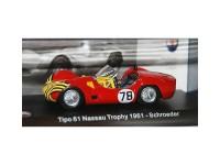 1:43 MASERATI Tipo 61 #78 Schroeder Nassau Trophy 1961