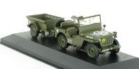 1:43 Jeep Willys MB
