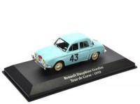 1:43 RENAULT Dauphine Gordini #43 Rally Tour de Corse 1959