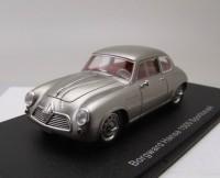 1:43 BORGWARD Hansa 1500 Sportcoupe 1954 Silver