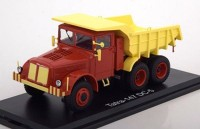 1:43 TATRA 147 DC5 (самосвал) 1958 Red/Light Yellow
