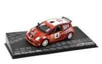 1:43 CITROEN C2 S1600 #4 Rossetti/De Luis Rally Targa Florio 2004
