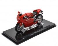 1:24 мотоцикл DUCATI 999 Testastretta Red