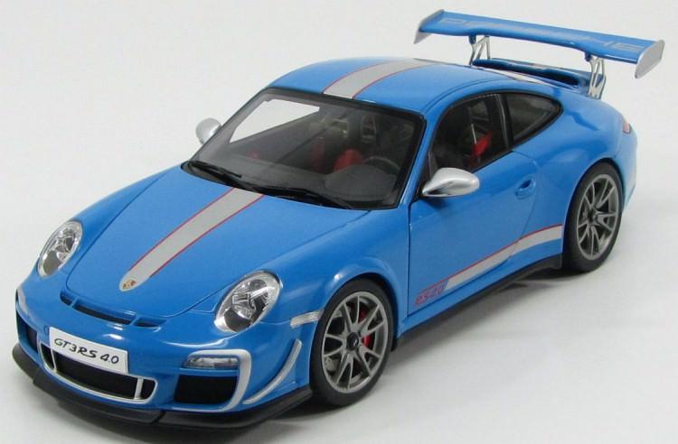 1:18 Porsche 911 (997) GT3 RS 4.0 2011 (blue)