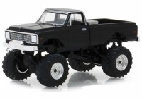 1:64 CHEVROLET K-10 Bigfoot 1972 Black
