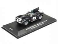 1:43 JAGUAR D-Type #4 N.Sanderson/R.Flockhart Winner Le Mans 1956