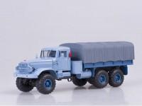 1:43 КрАЗ 255Б1 бортовой с тентом (1967) (голубой)