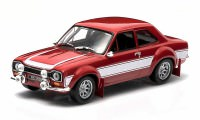 1:43 FORD Escort RS 2000 1974 Red with White Stripes