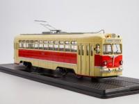 1:43 Трамвай МТВ-82, красный / желтый