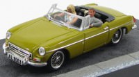 "1:43 MGB ""The Man with the Golden Gun"" 1974 Yellow"