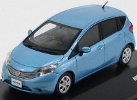 1:43 NISSAN NOTE 2012 Blue