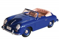 1:18 Porsche 356 Cabriolet 1950 Blue