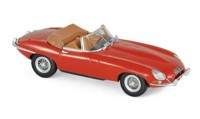 1:43 JAGUAR E-Type Cabriolet 1961 Carmin Red