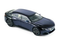 1:43 PEUGEOT Concept Car Exalt Version 2015 Dark Blue/Gloss Black