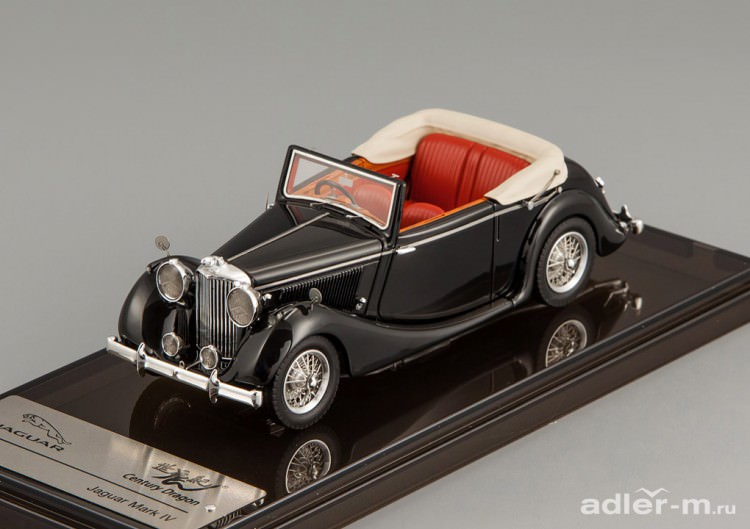 1:43 Jaguar MK IV Drophead Coupe (black)