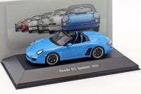 1:43 PORSCHE 911 Speedster (997) 2010 Blue
