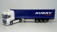 "1:43 DAF XF MY 2017 SUPERSPACE CAB c полуприцепом ""AUBRY"" 2019"
