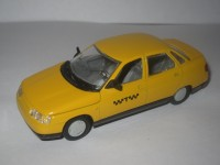 1:43 ВАЗ-2110 такси (без плафона)