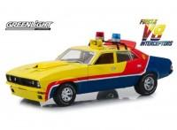 "1:18 FORD Falcon XB V8 Interceptor ""M.F.P."" (из к/ф ""Безумный Макс"") 1974 Yellow"