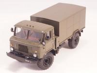1:43 АФК-66 Армейский автомобиль-фургон комбинированный для перевозки хлеба и продуктов