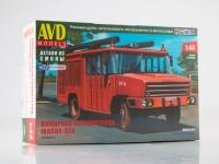 1:43 Сборная модель Пожарная автоцистерна Ikarus-526