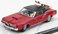 "1:43 MERCURY Cougar ""On Her Majesty's Secret Service"" 1969 Red"
