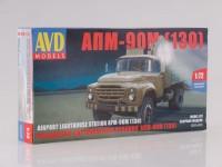 1:72 Сборная модель Прожекторная установка АПМ-90М (130)
