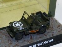 1:43 Jeep Willys MB 4х4 армия США 1944