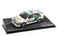 1:43 SKODA Octavia WRC #14 D.Auriol/Giraudet 9 место Rally Monte-Carlo 2003